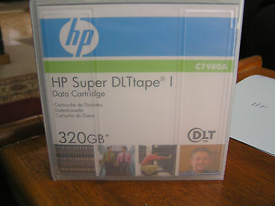 5x  HP Super DLTtape I (DLTI)  320Gb Backup Tapes C7980A