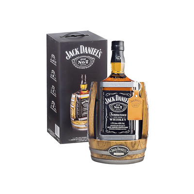 Jack Daniel's Old No.7 Tennessee Whiskey & Cradle 1.75L