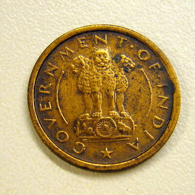 1954 India 1 Pice Coin