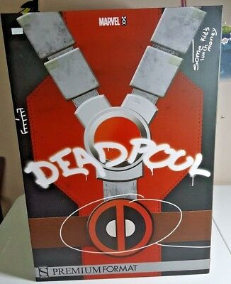 Deadpool Premium Format Figure Sideshow Collectibles Unopened Statue USA 300119