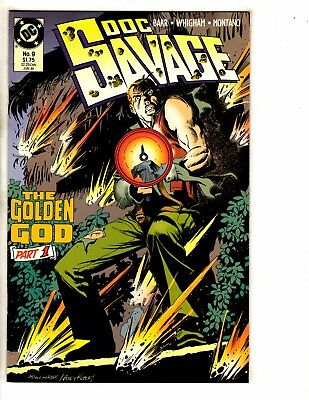 Lot Of 9 Doc Savage DC Comic Books # 9 10 11 12 13 14 15 16 + Annual # 1 PP6