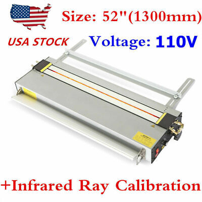 "52"" Acrylic Plastic PVC PC Bending Machine Heater Infrared Ray Calibration 220V"