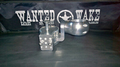 Wakeboard Tower TS Swing arm polished anodised by WantedWake  Australian owned