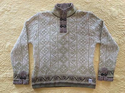 Dale of Norway Wool Sweater Women size L Rare #8-24