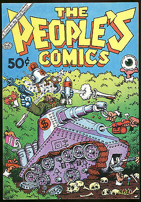 R Crumb The Peoples Comics Death of Fritz the Cat High Grade Underground Comix