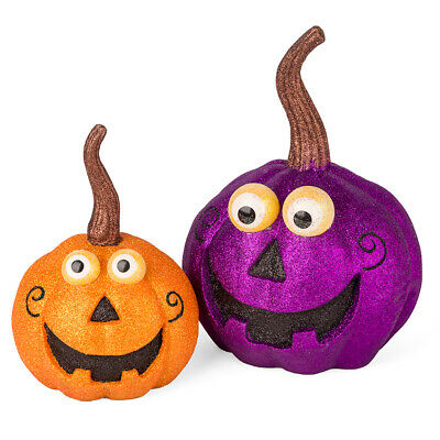NEW Raz Halloween HaJack O'Lantern Set of 2