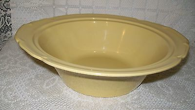 VINTAGE JOHNSON BROS PALE YELLOW 'Goldendawn' TUREEN BOWL 24.5cm (**no lid**)