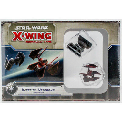 Imperial Veterans Star Wars X-Wing Miniatures Expansion Pack. NEW!