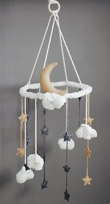 Handmade Baby Mobile Nursery Room Decoration