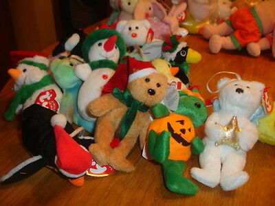 Ty Teenie Beanies All New, Carded, Packeted , Jingles, Basket Teenies, Mcdonalds