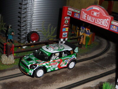 Scalextric BMW Mini Countryman no.14 Rally (Used) Excellent Condition