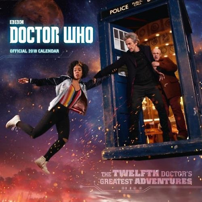 Doctor Who Official 2018 Calendar - Square Wall Format Calendar Wall Planner