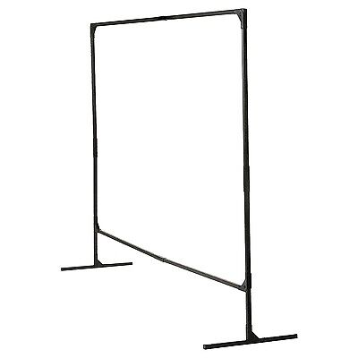 Welding Curtain Frame 6x6Ft Single Panel T Legs Screen Steel Modular Protection
