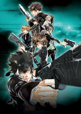 "050 PSYCHO PASS - Kougami Shinya Police Fight Anime 14""x19"" Poster"