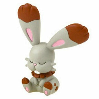 Pokemon Desktop PVC Good Night Friends Figure Sleeping Series ~ Bunnelby @81336