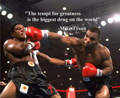 """024 Mike Tyson - Great Fighter Boxing Super Star Sport 29""""x24"""" Poster"""