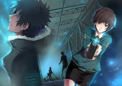 "078 PSYCHO PASS - Kougami Shinya Police Fight Anime 33""x24"" Poster"