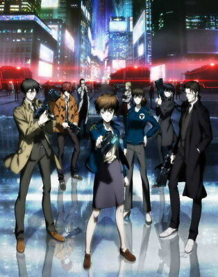 "131 PSYCHO PASS - Kougami Shinya Police Season 2 Fight Anime 24""x30"" Poster"