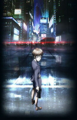 "141 PSYCHO PASS - Kougami Shinya Police Season 2 Fight Anime 24""x37"" Poster"