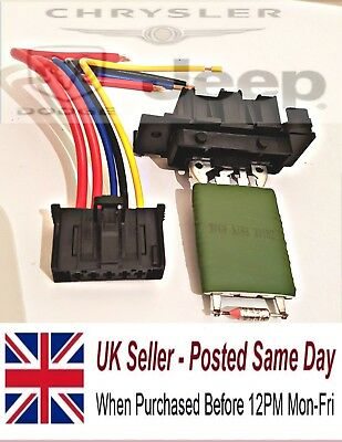 Fiat Grande Punto Heater Motor Resistor and repair loom New 55702407 2005>