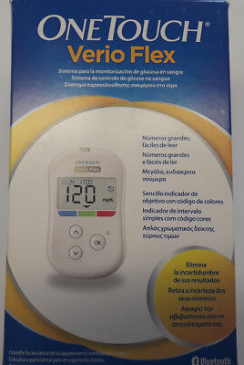 One Touch Verio Flex Blood Glucose Monitoring System +10 Strips & Lancets