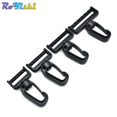 Plastic Swivel Snap Hooks for Bag Belts Straps Keychain Clasp Backpack Accessori