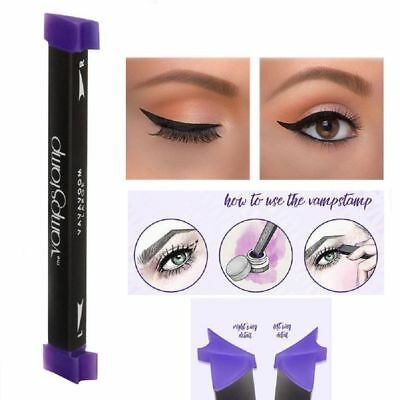 Waterproof Makeup Eyeliner Stamp Cat Eye Wing Stamp Ink Long Lasting Beauty Tool