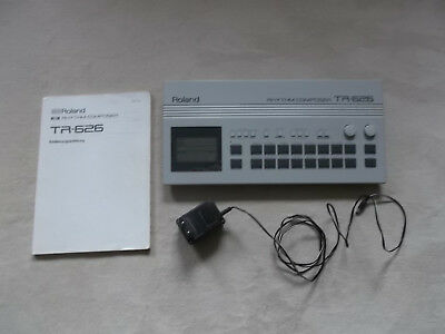 ROLAND TR 626 Rhythm composer incl. manual; very good condition
