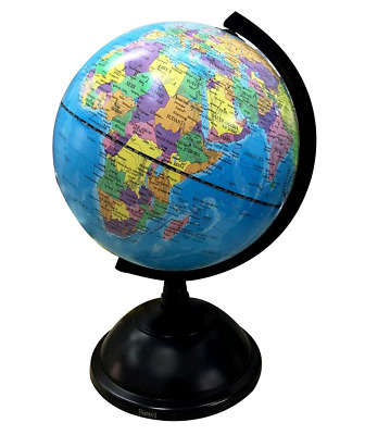 BEST Educational Swivel World Earth Globe 20cm Rotation Stand Kids Science Map