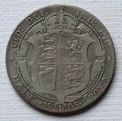 Gb 1905 Half Crown  Mintage Only 166,008