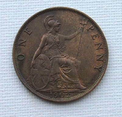Gb 1902  Low Tide   Penny @uncirculated   -  Traces Of Lustre
