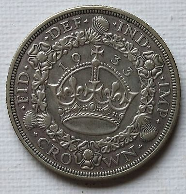Gb 1933 Crown  Mintage Only 7,132