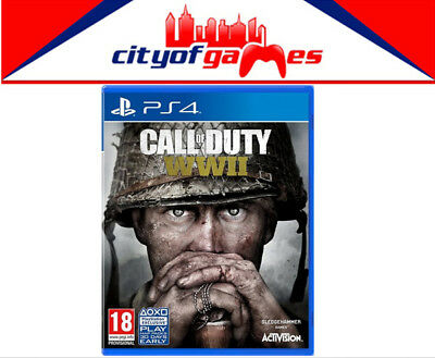Call of Duty WWII PS4 Game Free Express Post Pre Order Now