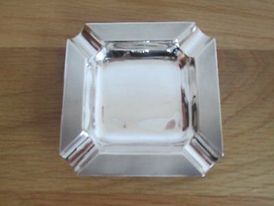 sterling silver ashtray 1965 47g