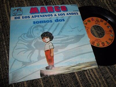 """Marco Bso Ost Marco/somos Dos 7"""" 1977 Spain"""