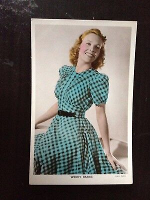 Wendy Barrie - C355 - Colourgraph Series Vintage Postcard - Excellent Cond