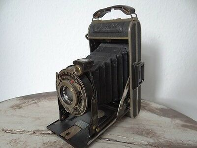 Antike Welta Kamera Antique Camera Welta Pronto Lymbol Photo-Kamera Industrie