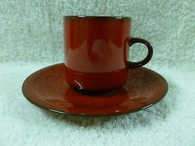 Villeroy & Boch GRANADA Vitro Porcelaine Coffee Cup and Saucer