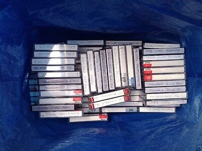 82 X Used Blank Cassettes Used Once Joblot Bundle