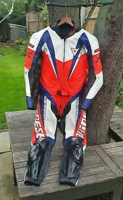 Two Piece Dainese Motorcycle Leathers. EU  50 / UK 40.