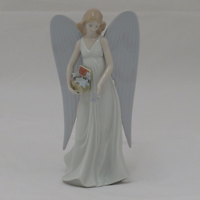 Lladro Angelic Stars Tree Topper Figurine 1008534.new In Box