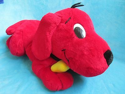"""*LARGE* SCHOLASTIC - Clifford The Big Red Dog *CLIFFORD* BIG PLUSH SOFT TOY 32"""""""