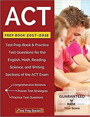 ACT Prep Book 2017-2018: Test Prep Book & Practice by ACT Study Guide Paperback