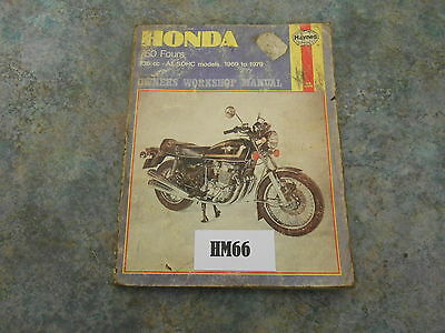 Honda Cb750 Fours Haynes Manual    (Hm66)