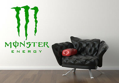 MONSTER ENERGY DRINK **LARGE** TEENAGERS Vinyl Wall art Stickers Decals