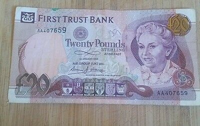 First Trust £20 note (AA)