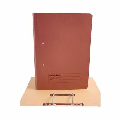 Guildhall Foolscap Red Transfer File Pack of 25 346-REDZ [JT22208]