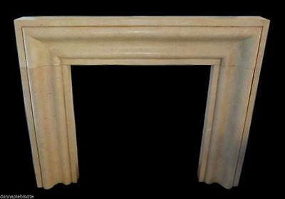 Fireplace Marble Yellow Silvia Gold Stone Handmade Classic Design