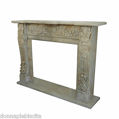 Fireplace Classic Fireplace Travertine Classic Stone Travertine Marble Fireplace