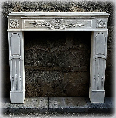 Fireplace Stone Leccese Style Empire Empire Fireplace Lecce Stone CLASSIC DESIGN